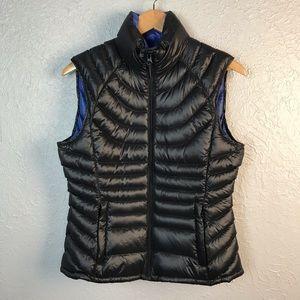 Bernardo Black Goose Down Puffer Vest Sm